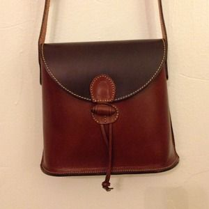 Handcrafted Leather Crossbody Bag from Barcelona