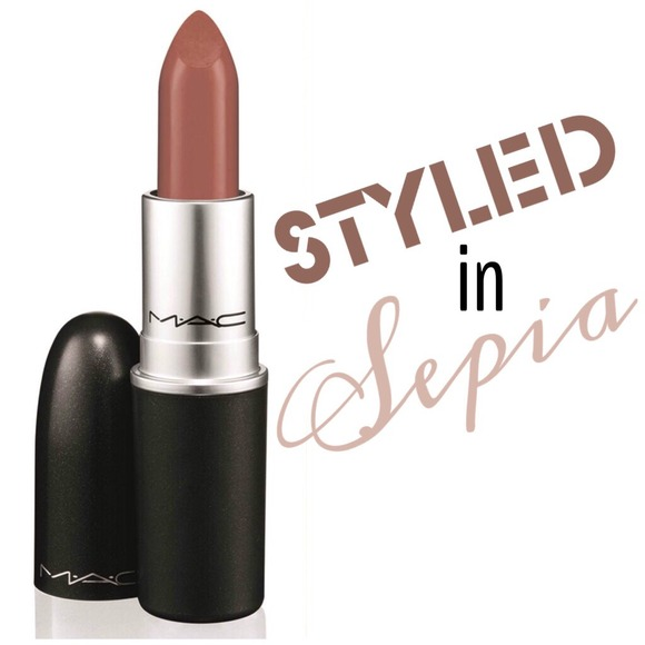 MAC Cosmetics - MAC Styled in Sepia Lipstick LE from A ...