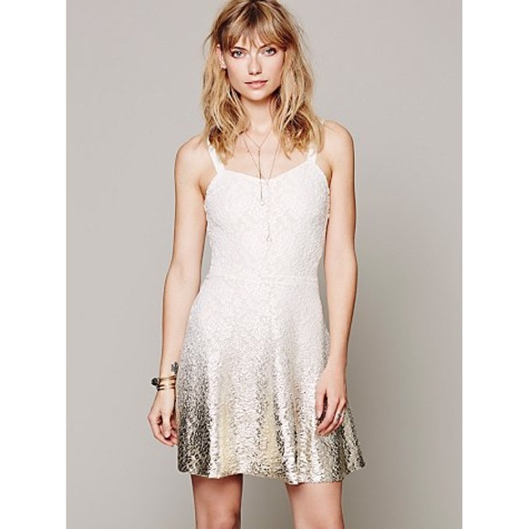 49% off Free People Dresses & Skirts - Free people white lace ...