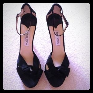 Black Jimmy Choo heels
