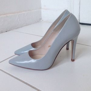 Zara Shoes - Baby blue Zara pumps