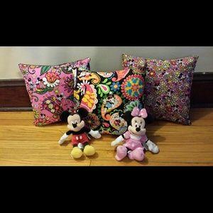 Vera Bradley Disney Throw Pillows SALE!