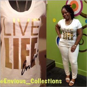 Live Life Tshirt