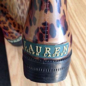 Lauren Ralph Lauren rain boots size 8