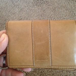 Coach Clutches & Wallets - Vintage leather coach wallet