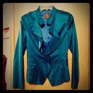 Teal blazer/jacket
