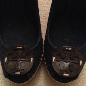 Tory burch wedge heels US size 8