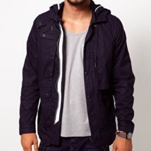 Used, G-star Stern hooded parka- NavyNWT for sale