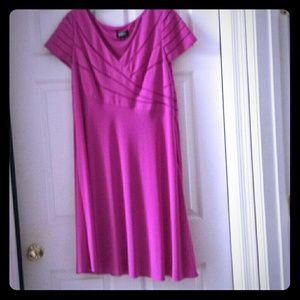 Adrianna Papell Pink Dress