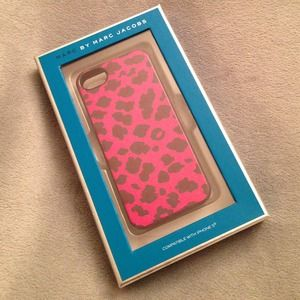 Marc by Marc Jacobs Pink Leopard iPhone 5 Case