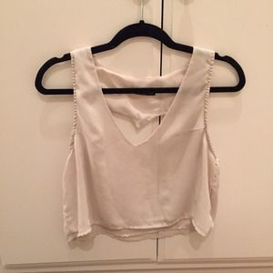 Brandy Melville Heart Back Tank