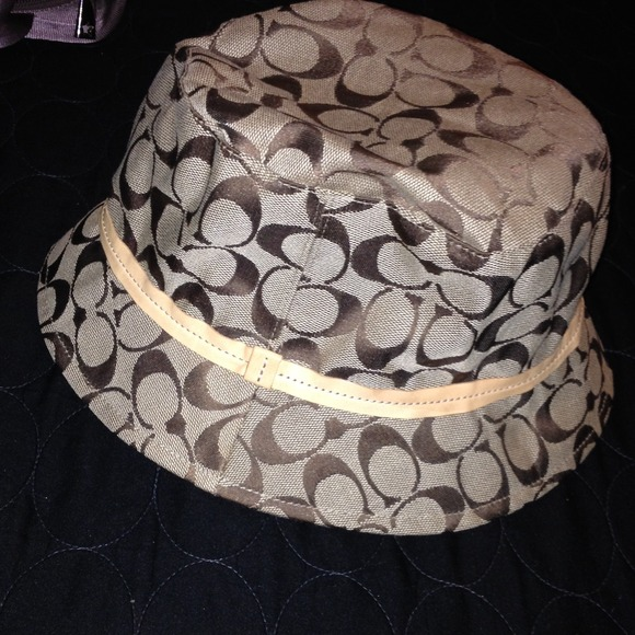 Coach Accessories - Price Reduced ! Authentic Coach Bucket Hat 🎩 431fcc02bbe