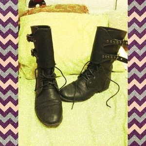 Charlotte Russe combat boots!!