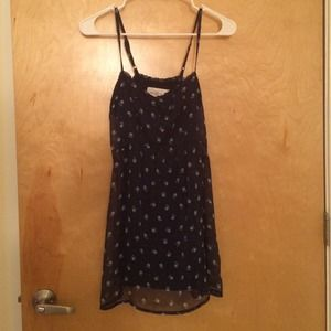 Abercrombie & Fitch navy floral dress