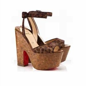 Christian Louboutin Shoes - Christian Louboutin Super Dombasle Wedge Heels