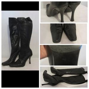 aldo shoes boots with narrow calfss