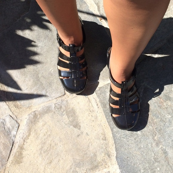 37f10c5991c4 American Apparel Shoes - Juju jelly shoes black size US 8 american apparel
