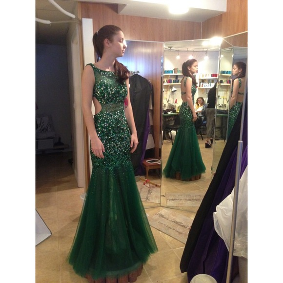 Emerald Prom Dresses Tumblr