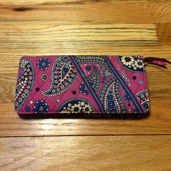 Vera Bradley travel wallet!