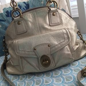 Coach Metallic Francine Bag