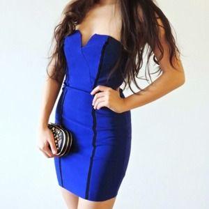 Dresses & Skirts - Super sexy little blue dress