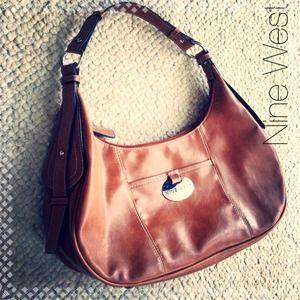 Tan Nine West handbag