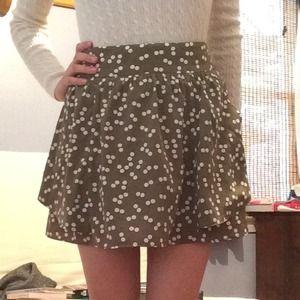 Forever 21 Spotted Skirt