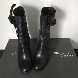 Biala Shoes - Biala Black Boots • Size 6