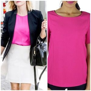Neon Pink Chic Blouse