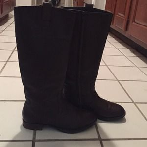 Chocolate Ralph Lauren riding boots