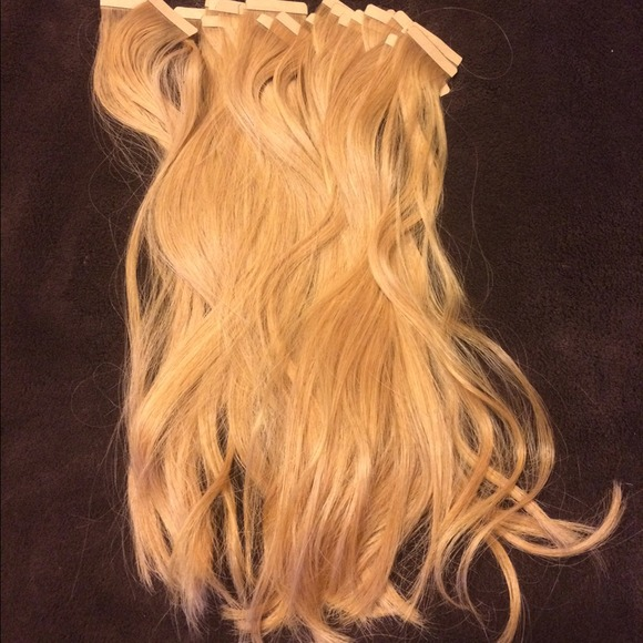 Hotheads Other Blonde Human Hair Extensions Poshmark