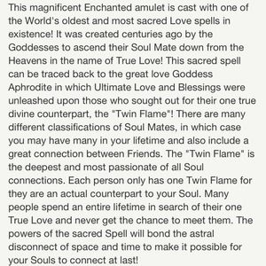 spell to find your soulmate