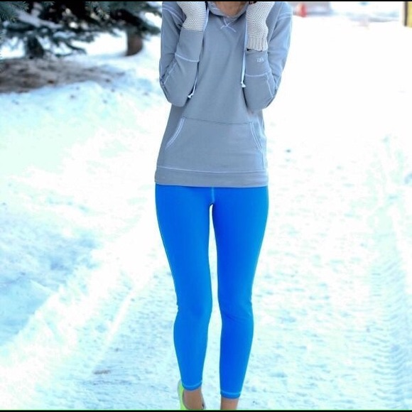 Bright Blue Leggings - The Else