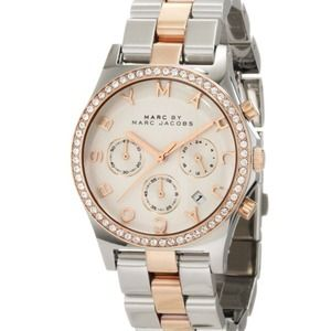 Marc By Marc Jacobs Rose Gold/Silver Watch ✨