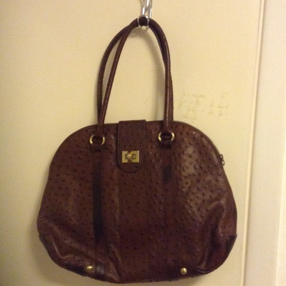 dce9936ce79a Bloomingdales Handbags - SALE PRICED!!! Bloomingdales ostrich leather bag