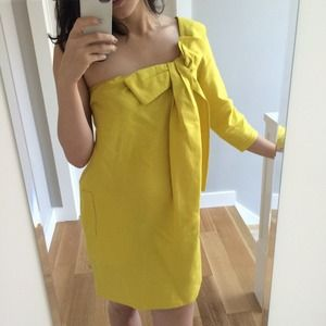 Chloe Dresses & Skirts - See by Chloe yellow linen dress