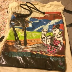 Lanvin Handbags - Lanvin perfect condition colorful beach tote!