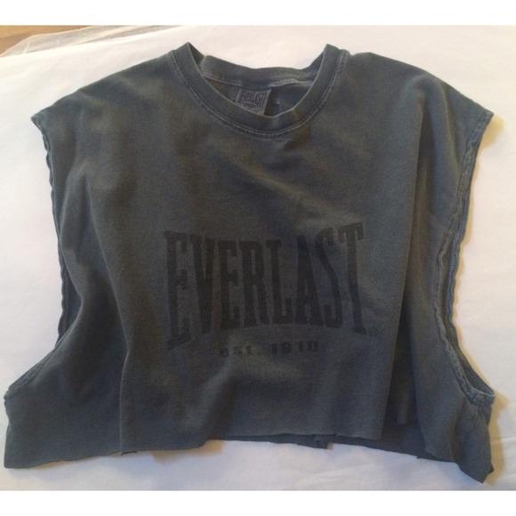 7c9000bfeec377 Everlast Tops - Everlast Crop Top Muscle Tee