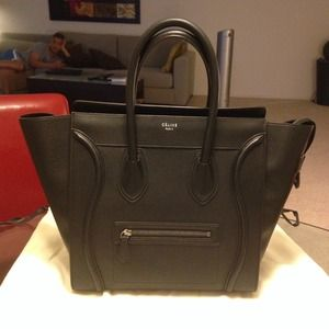 Celine - ??SOLD??on ebay Authentic Celine Mini luggage from ...