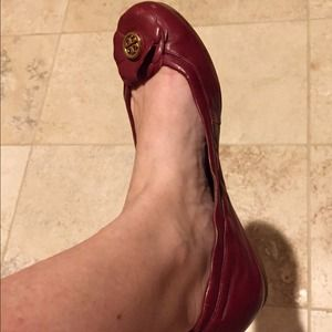 MINT CONDITION  Authentic Tory Burch Reva Flats