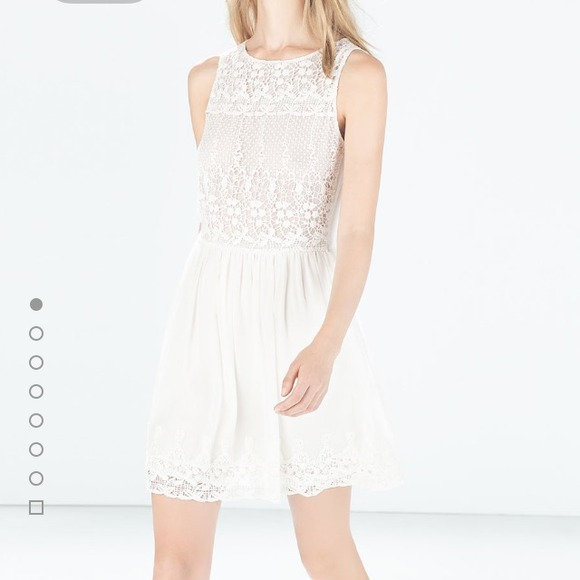4c67e688 Zara white crochet dress. NWT. Zara. M_54c07d12e75a624a53026428.  M_54c07d1593c6364f7102619f. M_54c07d1a94c7de6b7e02fc32