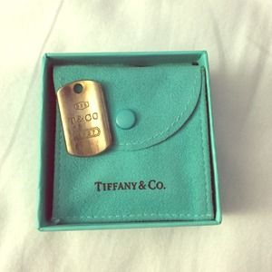 Tiffany & Co. Dog Tag Pendant