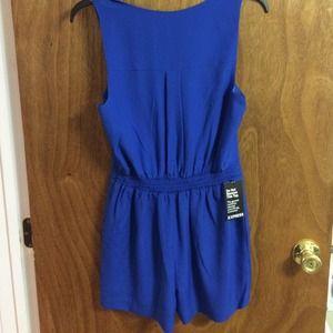 a4349d074de Express Dresses - New w tags Express blue romper size 6
