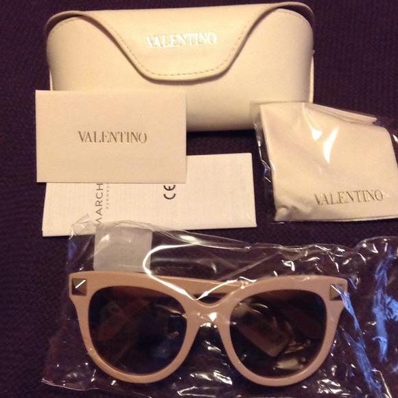 eadf52b41a4f5 Valentino Accessories   Rockstud Oversized Cat Eye Sunglasses   Poshmark