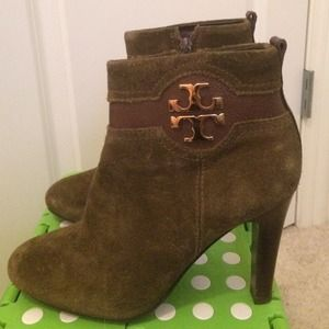 Tory Burch Alaina Suede Bootie