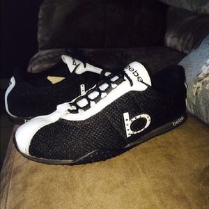 bebe bebe s tennis shoes sz 6 sold from v s closet