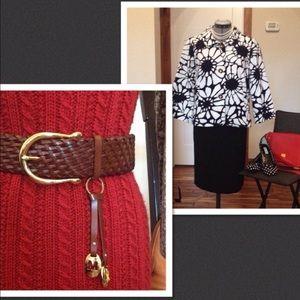 Michael Kors Accessories - Michael Kors belt + JC blazer bundle