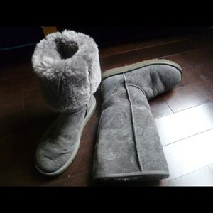 UGG Classic Tall Kimono Limited edition Boots Grey