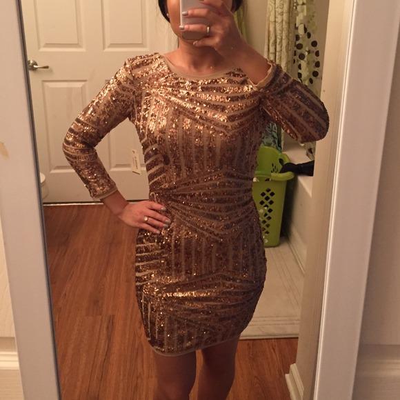 34% off Forever 21 Dresses & Skirts - Forever 21 Sequined Dress ...