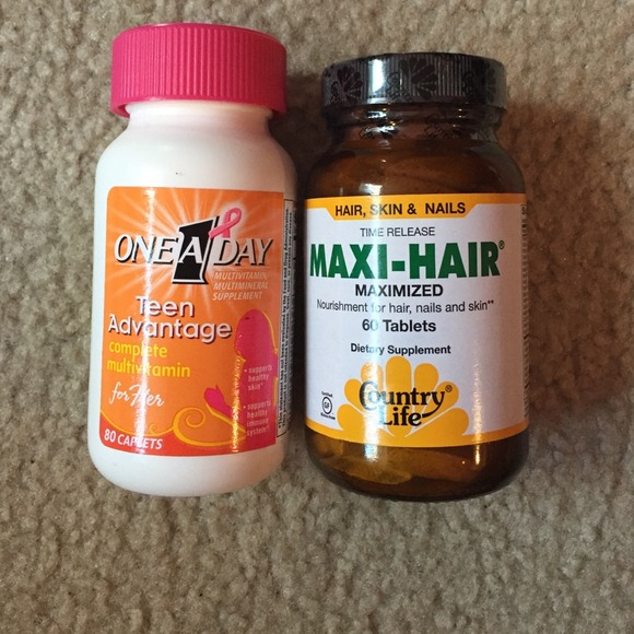 Hair growth pills and teen vitamins 💛💘💪 NWT